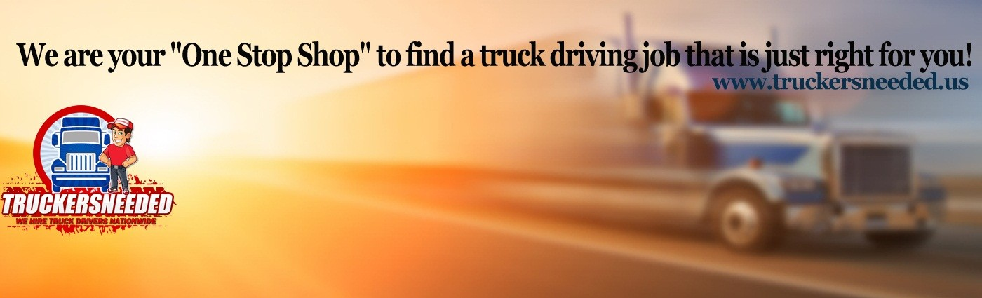 One Stop Shop for Truck Driving Jobs